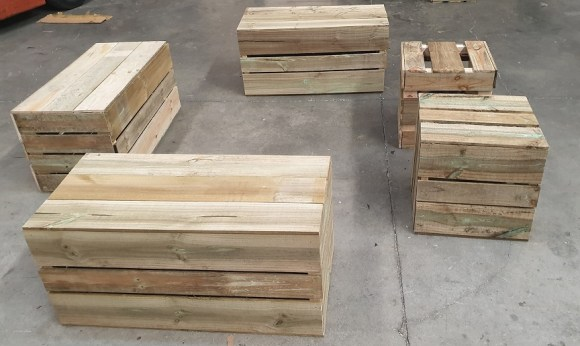 Crate Ottamans