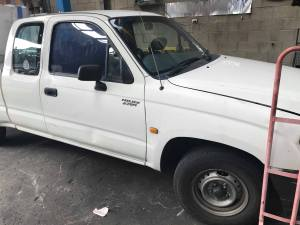 Old Toyota Hilux Removal