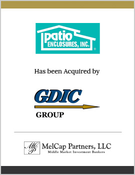 Patio Enclosures  MelCap Partners Cleveland OH