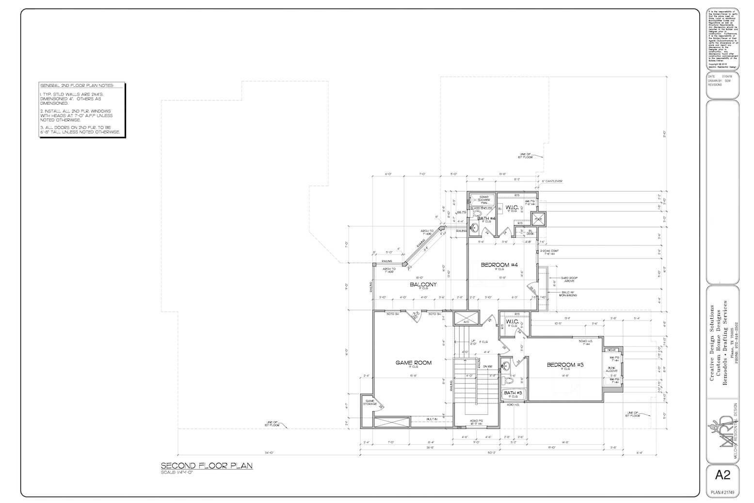 Custom Home Design Process Melchin Residential Design