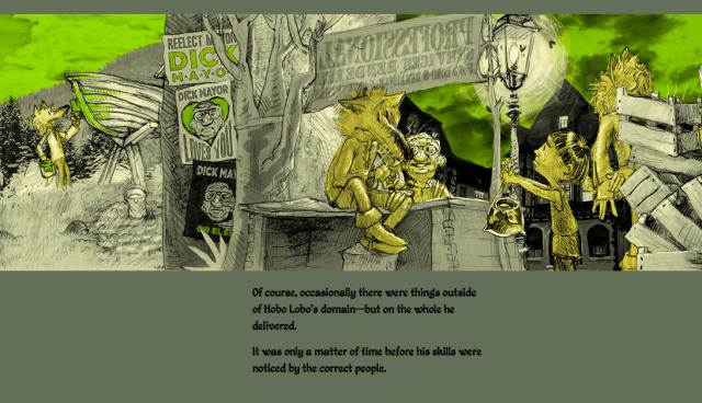 Hobo Lobo of Hamelin Screenshot