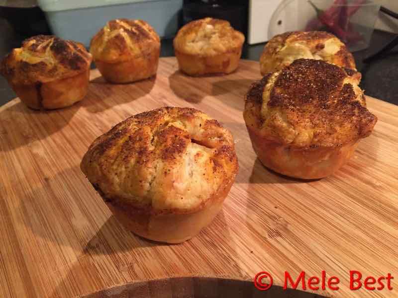 Pulled pork muffin