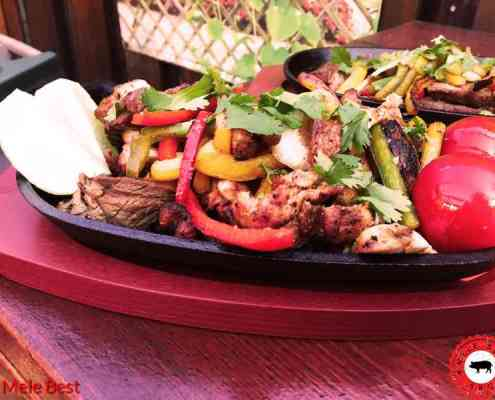Beef chicken fajita