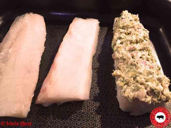 Kabeljauwhaasje met smaakvolle pistachekorst