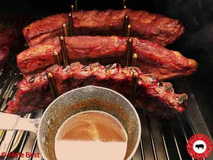 Chili bacon spareribs
