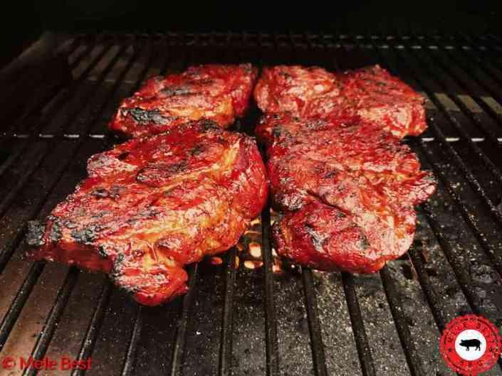Lumberjack pork steak