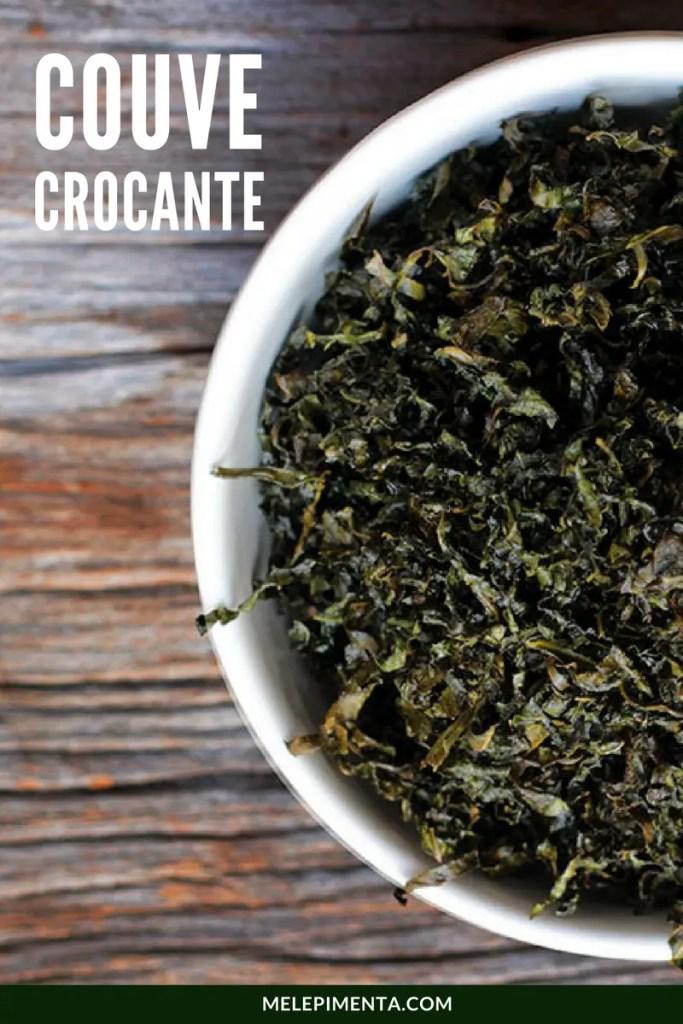 Couve Crocante - Crispy de couve