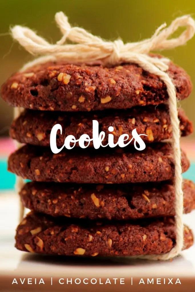 cookies de ameixa e aveia