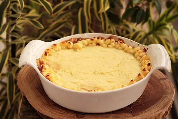 Torta de carne inglesa |  Shepherd's Pie