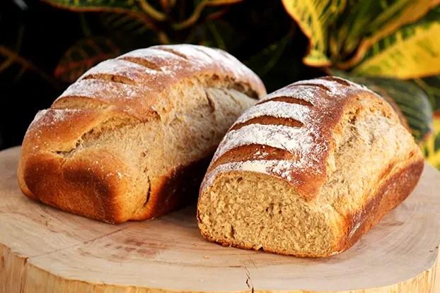 Pão de batata e centeio