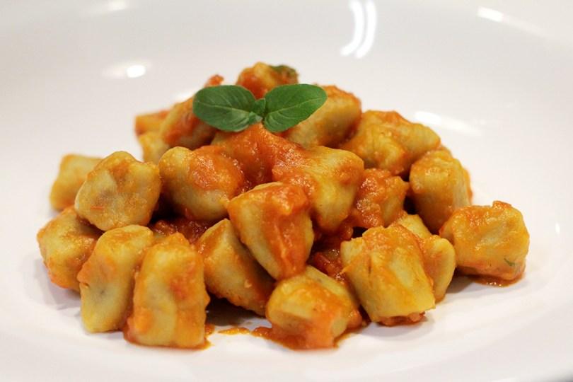 Receita de nhoque de castanha portuguesa e batata
