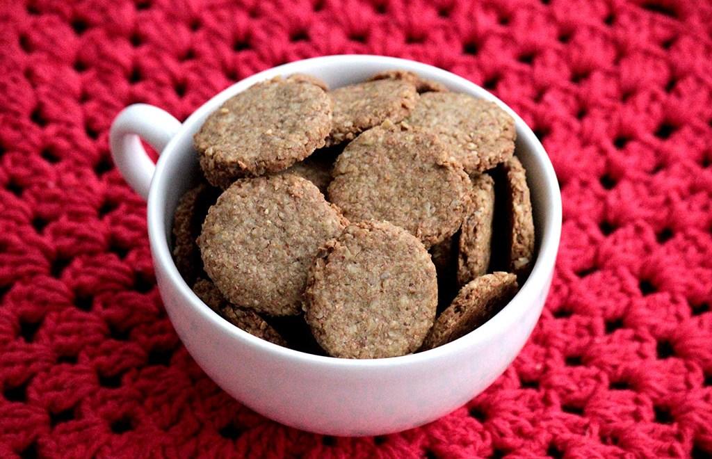 Biscoitos integrais com aveia – Fáceis e gostosos
