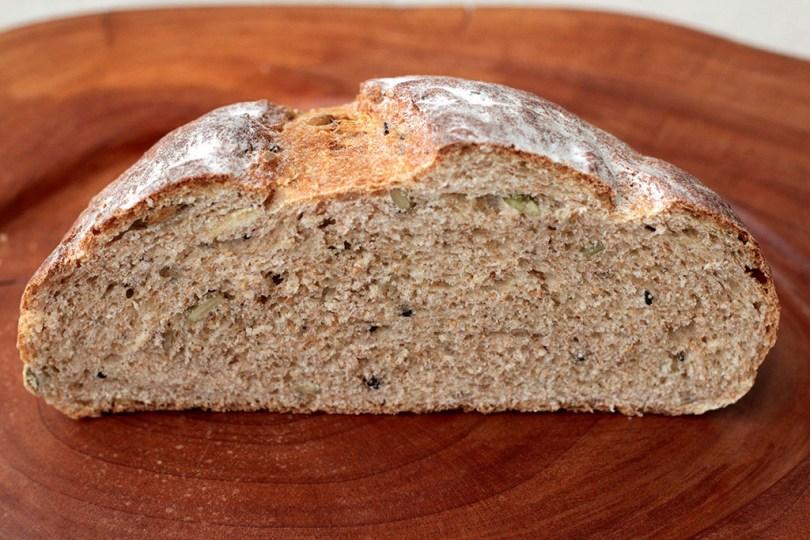 Pão integral de aipim