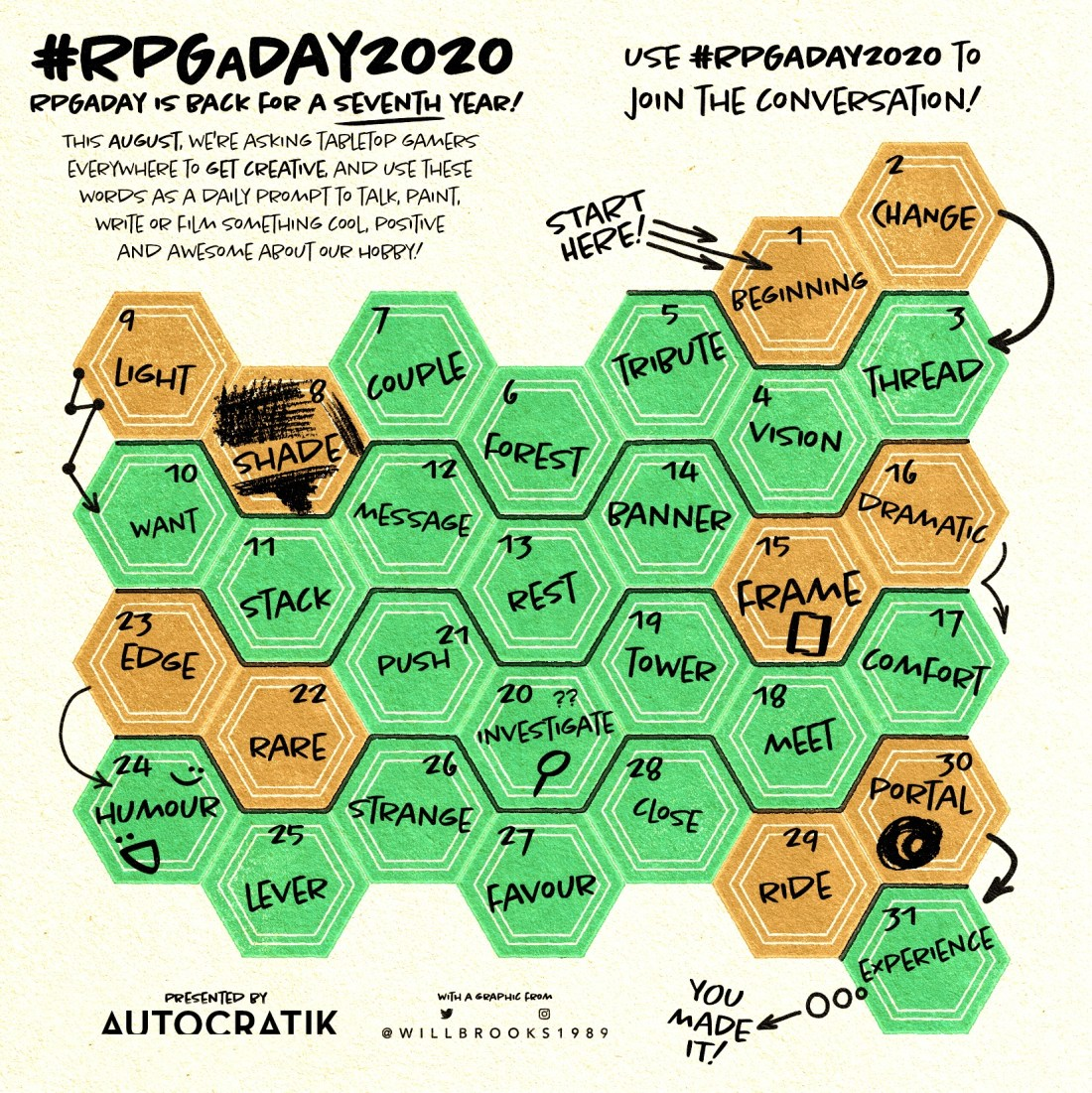 RPGaDay2020 graphic