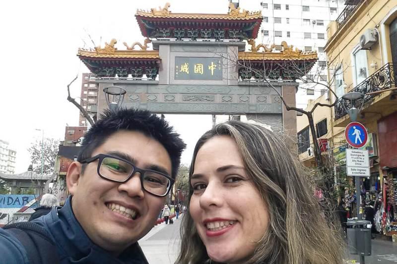 Bairro Chines em Buenos Aires