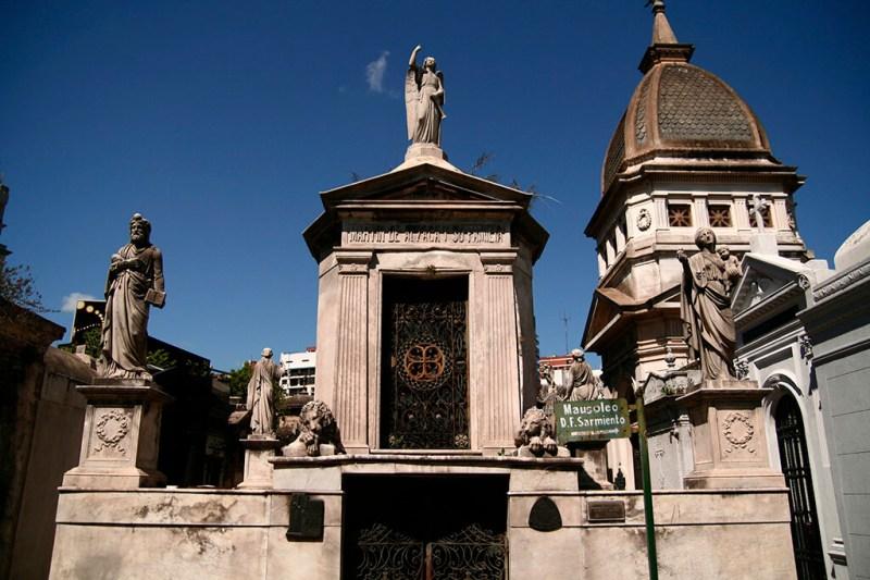 Principais atrativos de Buenos Aires Cemitério da Recoleta