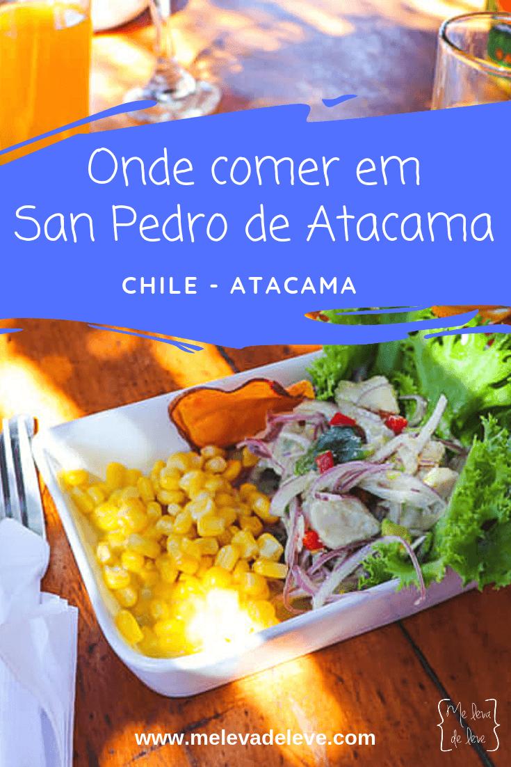 Onde comer em San Pedro de Atacama, Chile