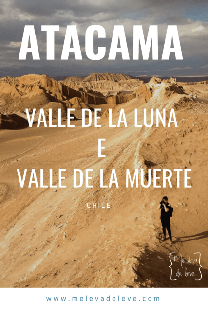 Atacama Valle de la luna e valle de la muerte chile