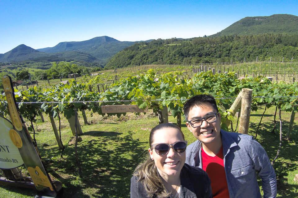 O que ver e fazer em Canela? Visitar a vinícola Jolimont