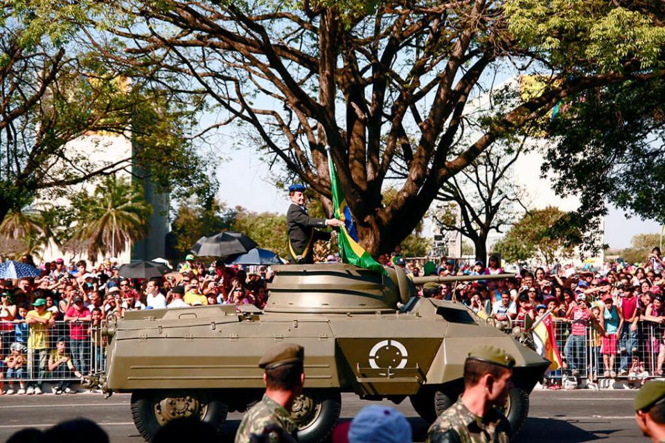 Como assistir o desfile de 7 de setembro em Brasilia