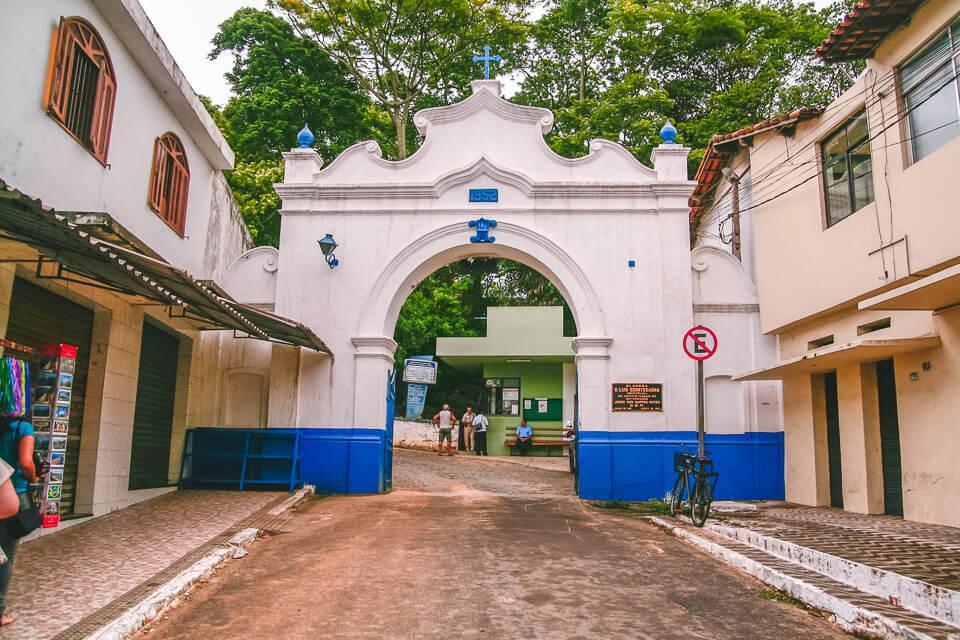 O que ver e fazer em Vila Velha no Espirito Santo Convento de Nossa Senhora da Penha