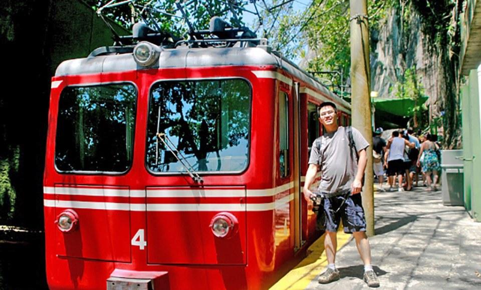 Principais pontos turísticos do Rio de Janeiro Trem do Corcovado