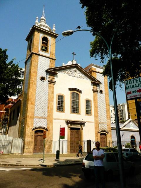 Tour a pé pelo Rio de Janeiro