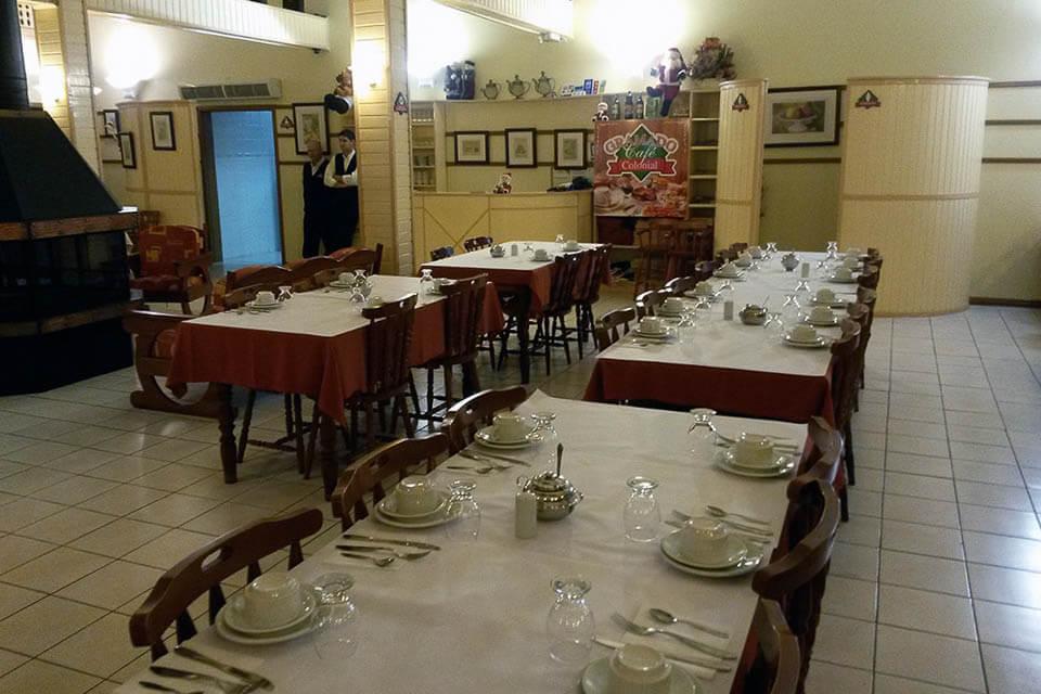 Café colonial em Gramado e Canela