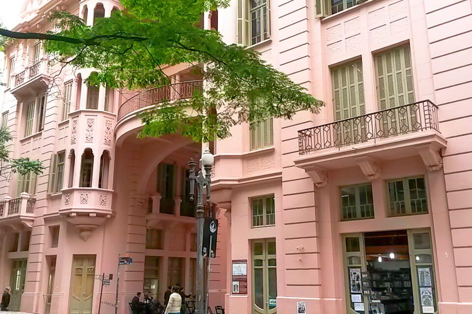Casa de Cultura Mario Quintana no Centro Histórico de Porto Alegre