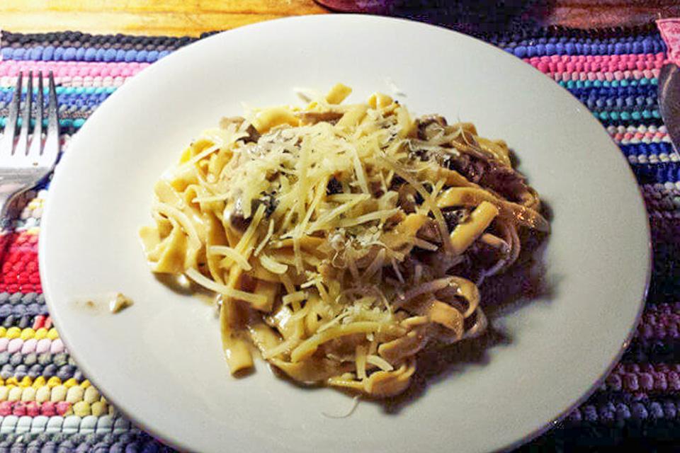 Onde comer em Porto Alegre jantar comida italiana massa