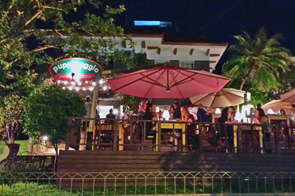 Onde comer em Porto Alegre jantar comida italiana ao ar livre