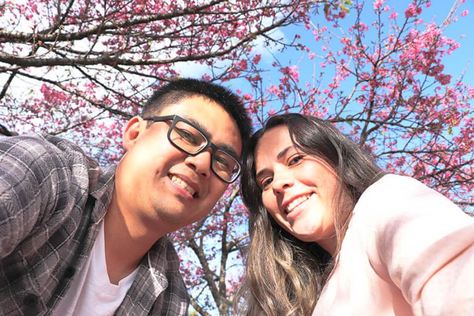 Sakura no Brasil em São Roque