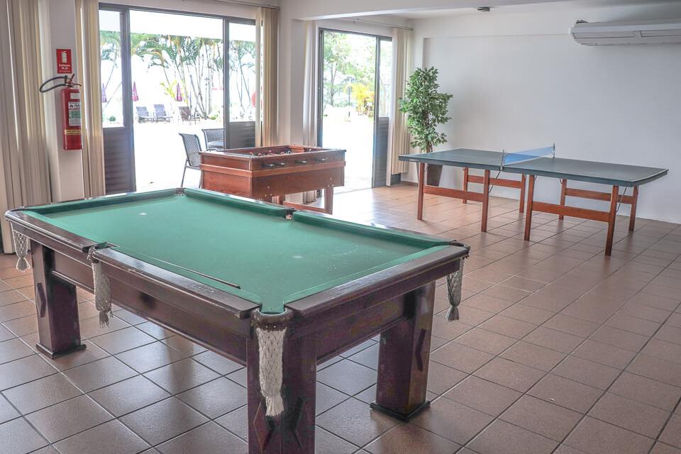 Hotel com sala de jogos em Brusque