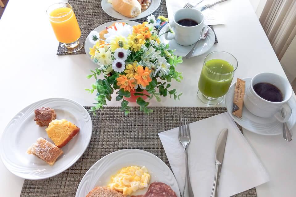 Hotel com café da manhã incluso em Brusque