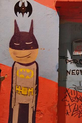 Beco do Batman o melhor lugar para ver grafite em São Paulo