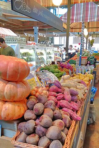 Feira produtos orgânicos Eataly São Paulo