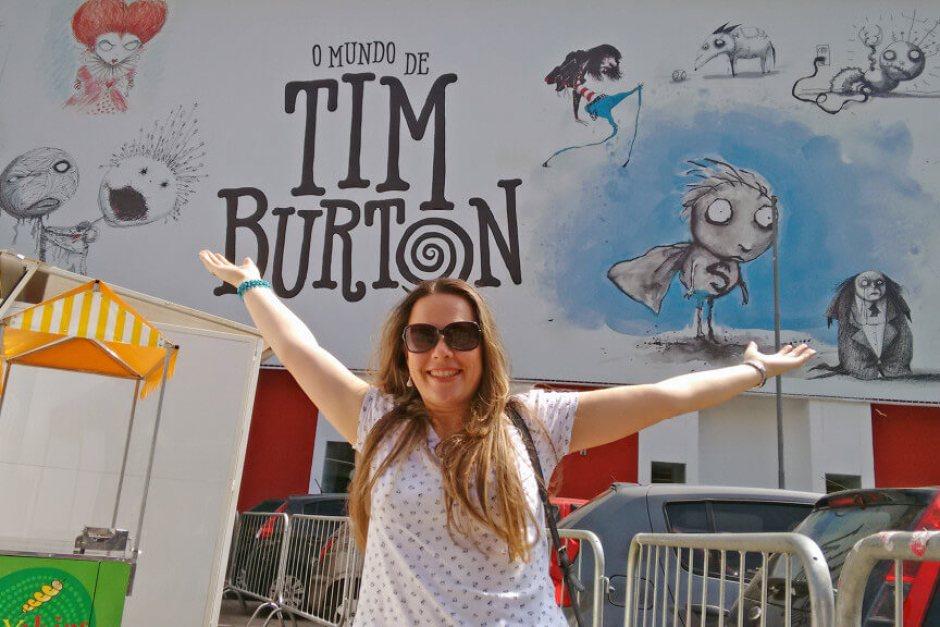 O que ver e fazer em São Paulo exposições Museu da imagem e do som - MIS Tim Burton
