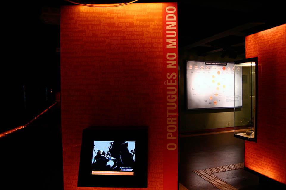 O que visitar em São Paulo Museu da Língua Portuguesa