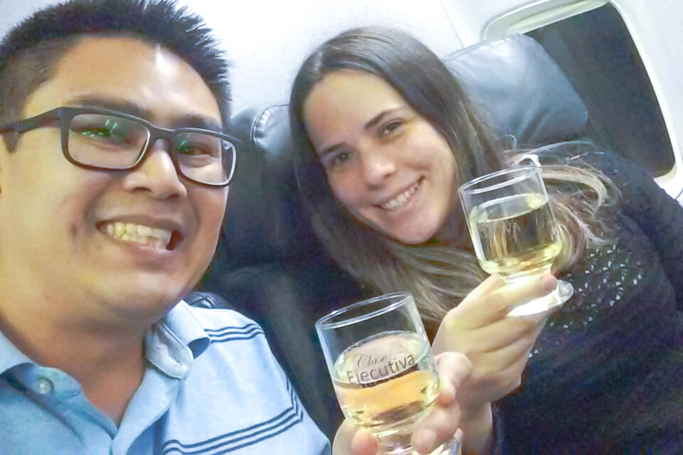 Como é voar Copa Airlines? classe executiva (business)