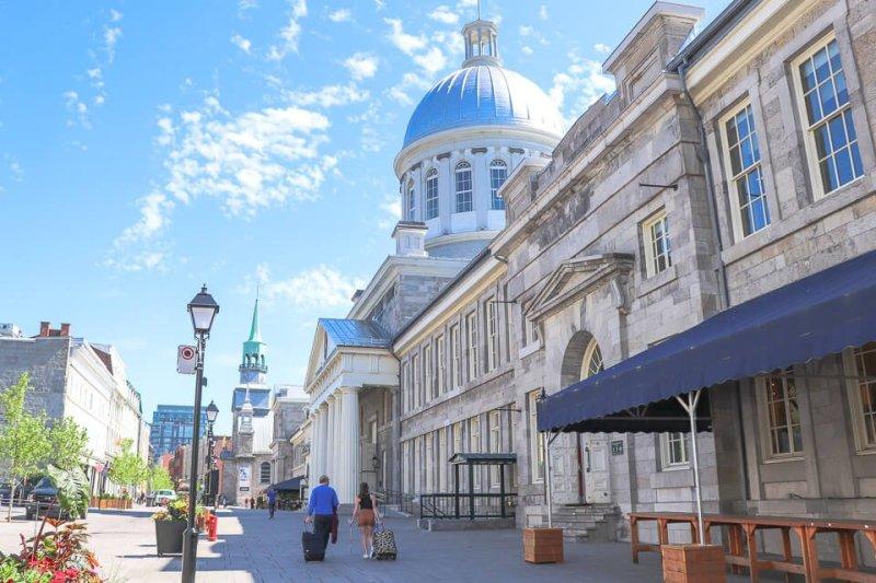 Marché Bonsecours é uma opção de onde fazer compras em Montreal