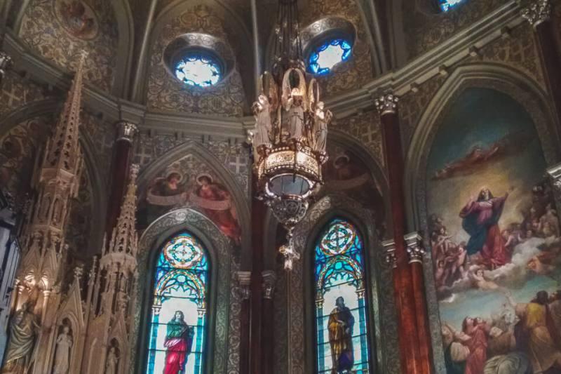 Decoração da St. Patrick's Basilica