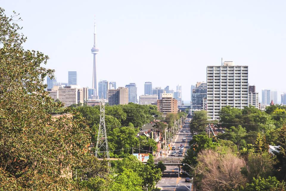 Mirante em Toronto ao lado da Casa Loma
