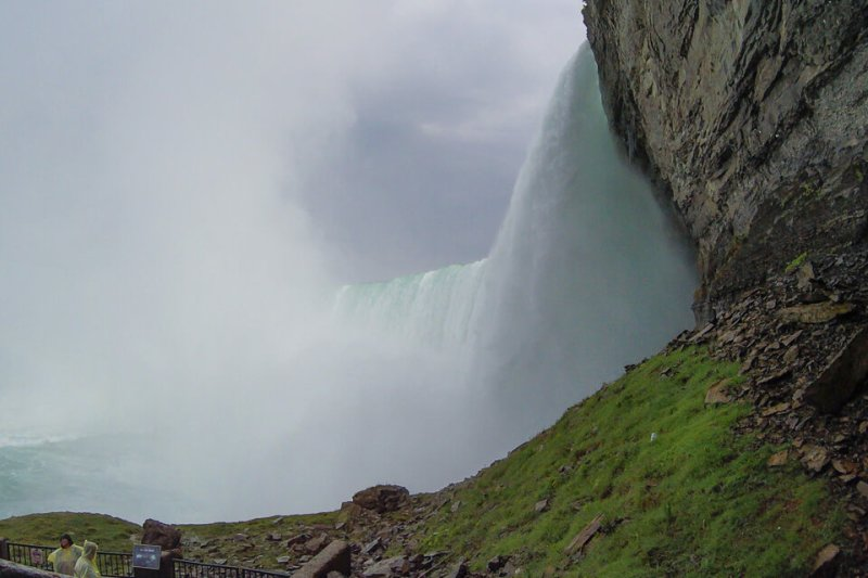 Do lado das Cataratas de Niagara