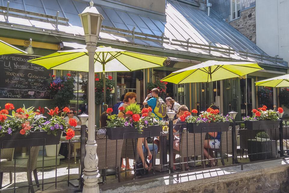 Roteiro de 3 dias em Quebec com opções de bons restaurantes