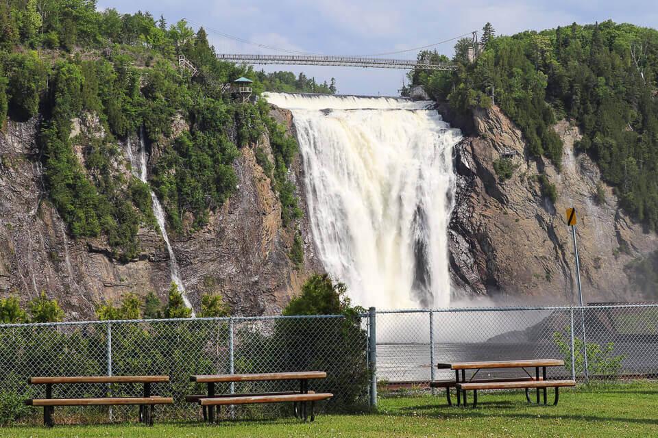 Roteiro de 3 dias em Quebec com passeio ao Parc de la Chute-Montmorency