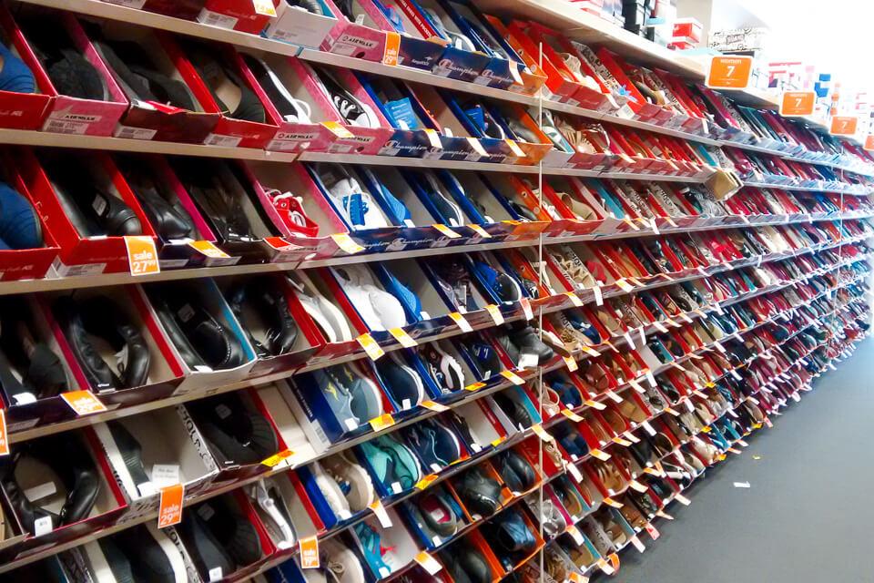 Onde fazer compras em Toronto - Payless