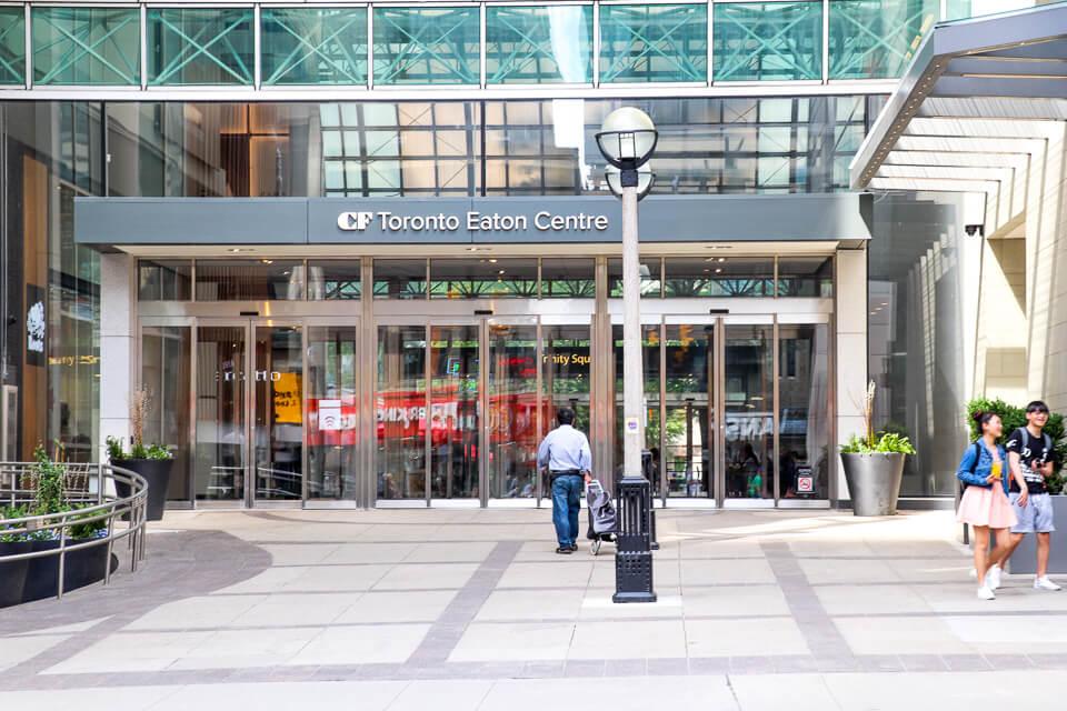 Onde fazer compras em Toronto - Toronto Eaton Centre