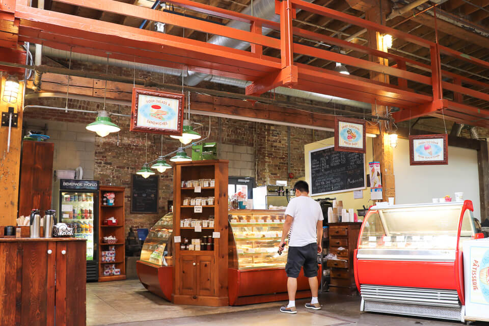 Distillery District - cafeteria