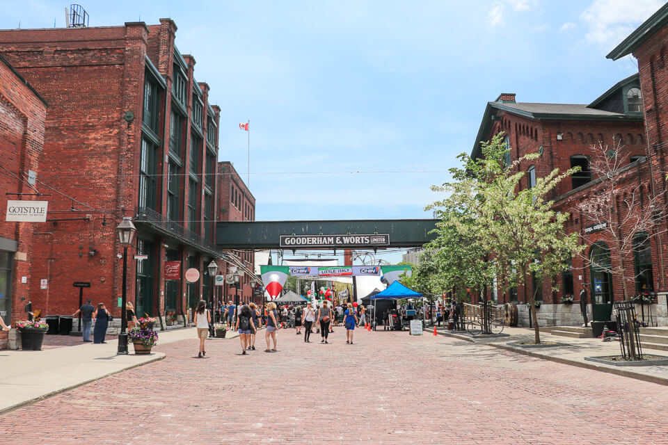 Distillery District - Gooderham and Worts