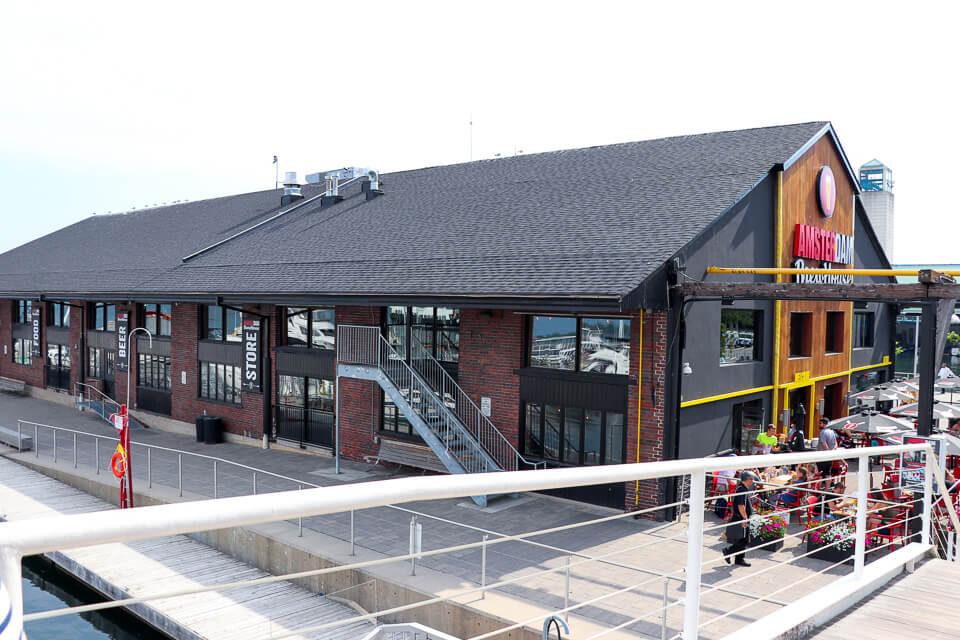 Bares e restaurantes em Harbourfront Centre
